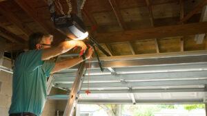 Garage Door Opener Installation in Edmonton