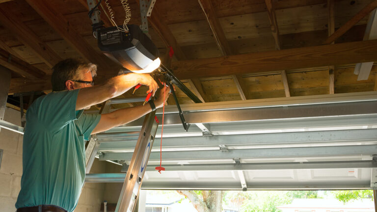 Garage Door Opener Installation in Edmonton